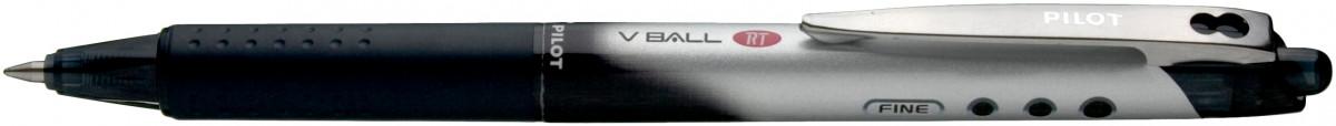 Pilot V Ball 5 Retractable Rollerball Pen - Black