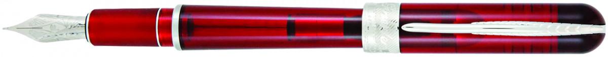 Pineider Avatar UR Demo Fountain Pen - Wine Red