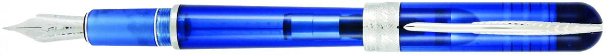 Pineider Avatar UR Demo Fountain Pen - Sky Blue