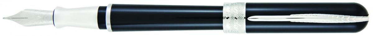Pineider Avatar UR Fountain Pen - Graphene Black