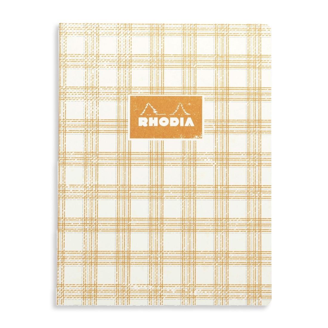 Rhodia Heritage Notebook - Ivory Tartan
