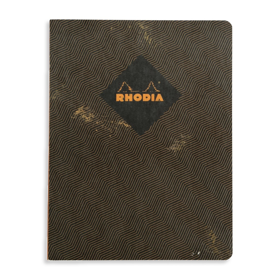 Rhodia Heritage Notebook - Black Chevrons