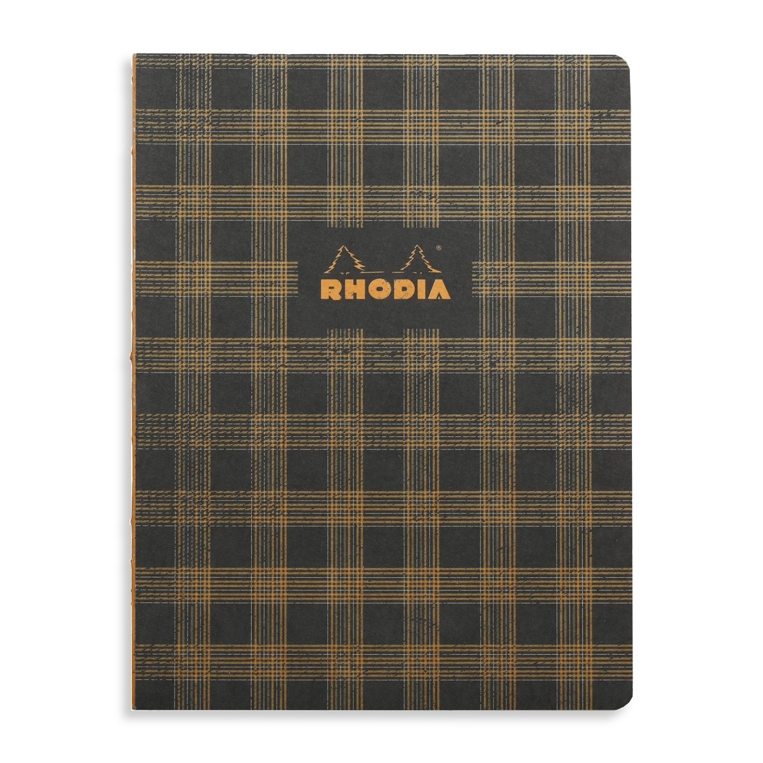 Rhodia Heritage Notebook - Black Tartan