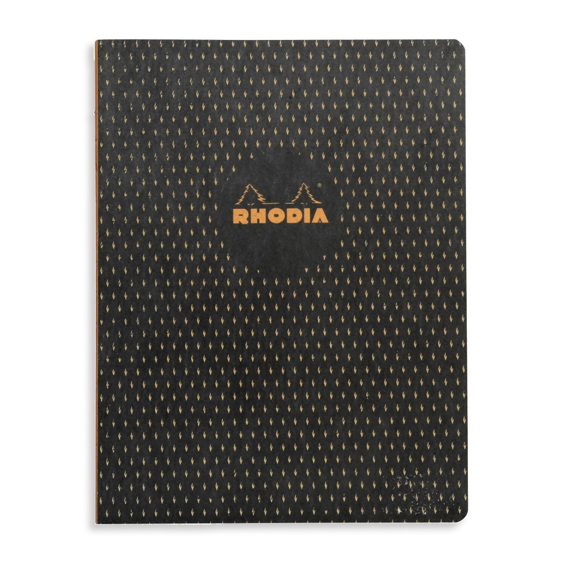 Rhodia Heritage Notebook - Black Moucheture