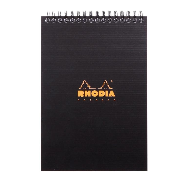 Rhodia Wirebound Notebook - A5 Graph Paper
