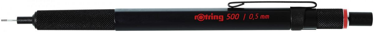 Rotring 500 Mechanical Pencil - Black Barrel - 0.50mm
