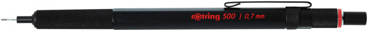 Rotring 500 Mechanical Pencil - Black Barrel - 0.70mm