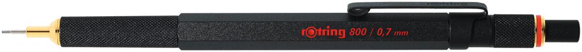 Rotring 800 Mechanical Pencil - Black Barrel - 0.70mm