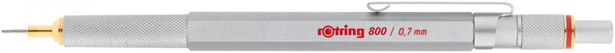 Rotring 800 Mechanical Pencil - Silver Barrel - 0.70mm