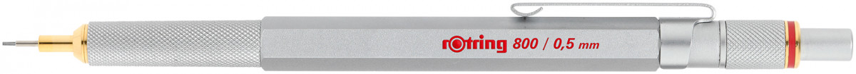 Rotring 800 Mechanical Pencil - Silver Barrel - 0.50mm