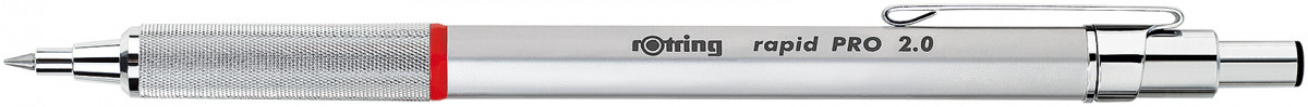 Rotring Rapid Pro Mechanical Pencil - Silver Chrome - 2.00mm