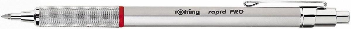 Rotring Rapid Pro Ballpoint Pen - Silver