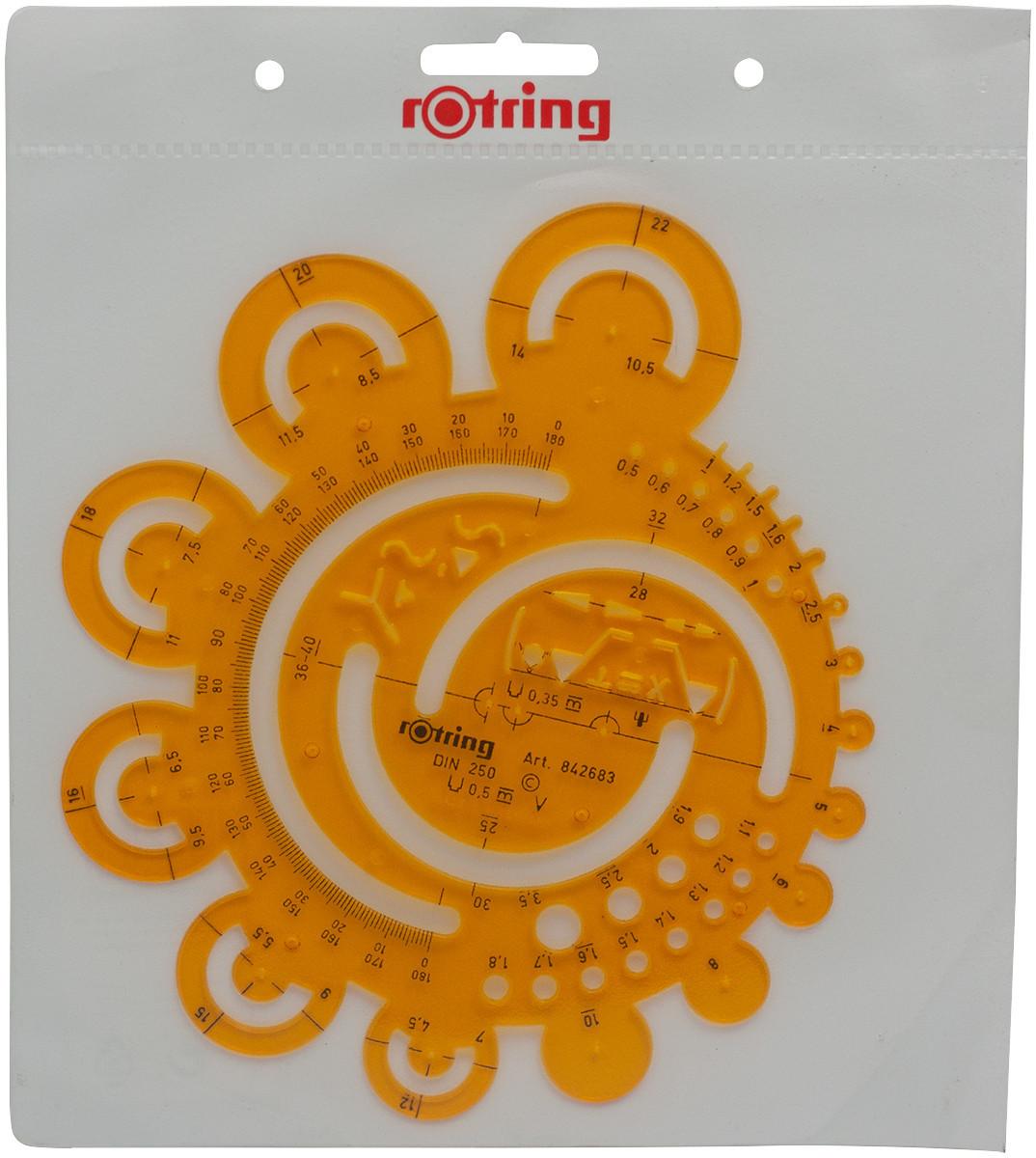 Rotring Radii Din 250