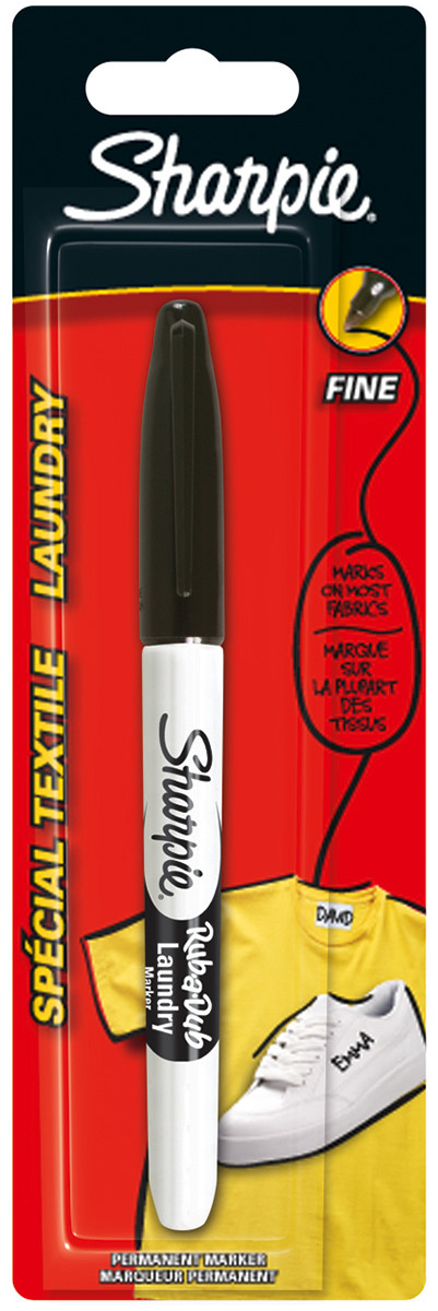 Sharpie Laundry Marker Pen - Black
