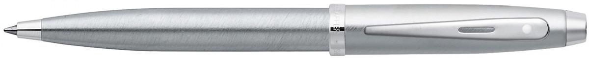 Sheaffer 100 Ballpoint Pen - Brushed Chrome Nickel Trim