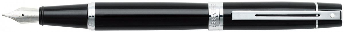 Sheaffer 300 Fountain Pen - Gloss Black Chrome Trim