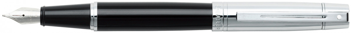 Sheaffer 300 Fountain Pen - Gloss Black & Chrome