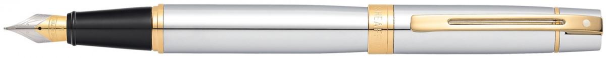 Sheaffer 300 Fountain Pen - Medalist Chrome & Gold