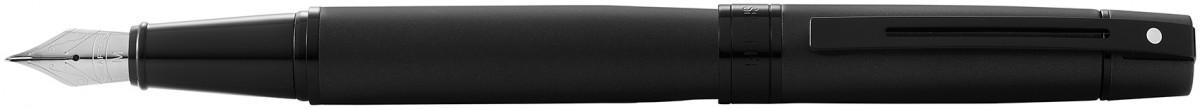 Sheaffer 300 Fountain Pen - Matte Black Lacquer PVD Trim