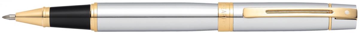 Sheaffer 300 Rollerball Pen - Medalist Chrome & Gold