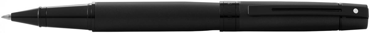 Sheaffer 300 Rollerball Pen - Matte Black Lacquer PVD Trim