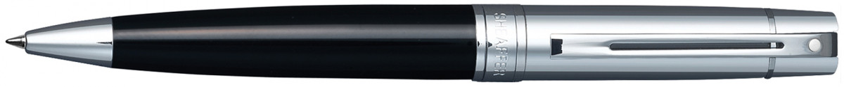 Sheaffer 300 Ballpoint Pen - Gloss Black & Chrome