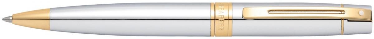 Sheaffer 300 Ballpoint Pen - Medalist Chrome & Gold
