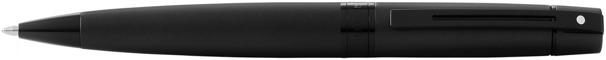 Sheaffer 300 Ballpoint Pen - Matte Black Lacquer PVD Trim