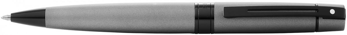 Sheaffer 300 Ballpoint Pen - Matte Grey Lacquer PVD Trim