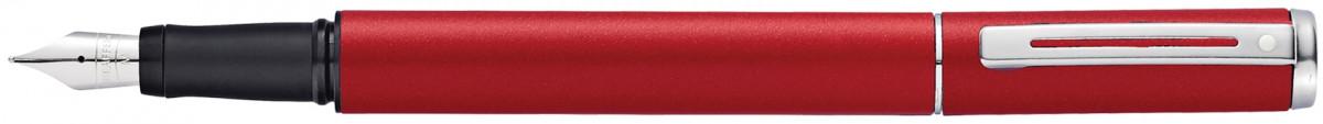 Sheaffer Award Fountain Pen - Matt Red Chrome Trim