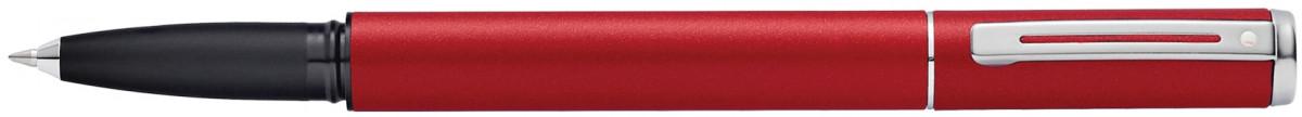 Sheaffer Award Rollerball Pen - Matt Red Chrome Trim