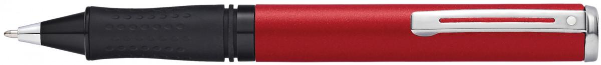 Sheaffer Award Ballpoint Pen - Matt Red Chrome Trim