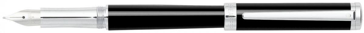 Sheaffer Intensity Fountain Pen - Onyx Chrome Trim