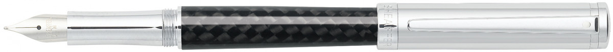 Sheaffer Intensity Fountain Pen - Carbon Fibre & Chrome