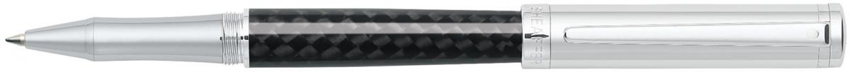 Sheaffer Intensity Rollerball Pen - Carbon Fibre & Chrome