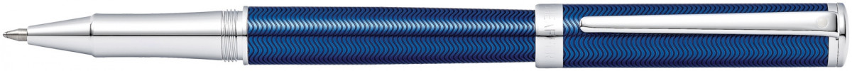 Sheaffer Intensity Rollerball Pen - Translucent Blue Chrome Trim