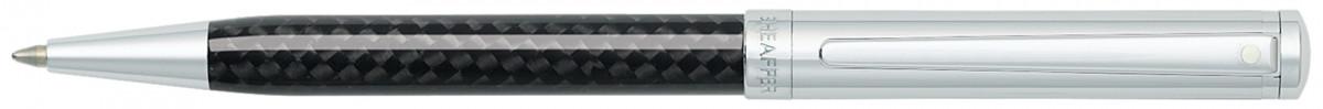 Sheaffer Intensity Ballpoint Pen - Carbon Fibre & Chrome