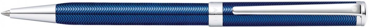 Sheaffer Intensity Ballpoint Pen - Translucent Blue Chrome Trim