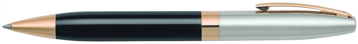 Sheaffer Legacy Heritage Ballpoint Pen - Black and Palladium Gold Trim