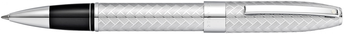 Sheaffer Legacy Rollerball Pen - Chrome Herringbone