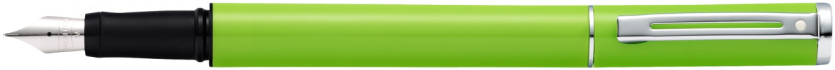Sheaffer Pop Fountain Pen - Lime Green Chrome Trim