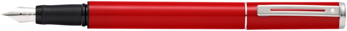 Sheaffer Pop Fountain Pen - Red Chrome Trim