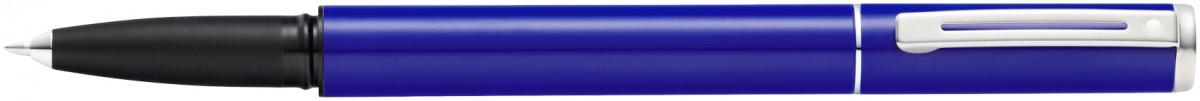 Sheaffer Pop Rollerball Pen - Blue Chrome Trim