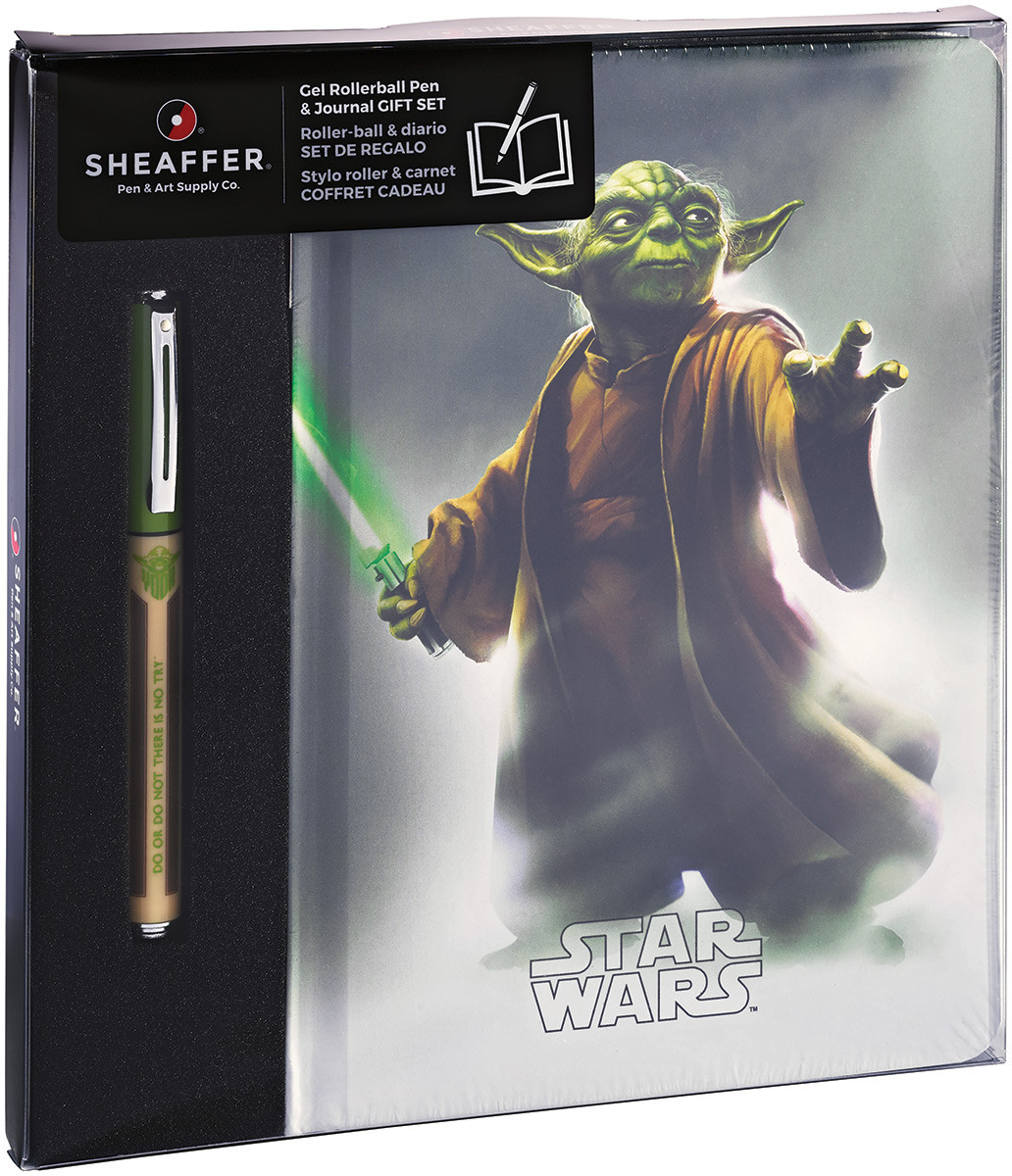 Sheaffer Pop Rollerball Pen - Star Wars™ Yoda with Journal
