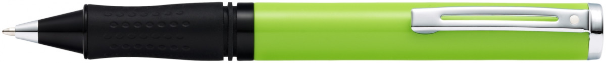 Sheaffer Pop Ballpoint Pen - Lime Green Chrome Trim
