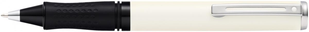Sheaffer Pop Ballpoint Pen - White Chrome Trim