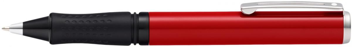 Sheaffer Pop Ballpoint Pen - Red Chrome Trim
