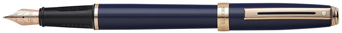 Sheaffer Prelude Fountain Pen - Cobalt Blue Rose Gold Trim