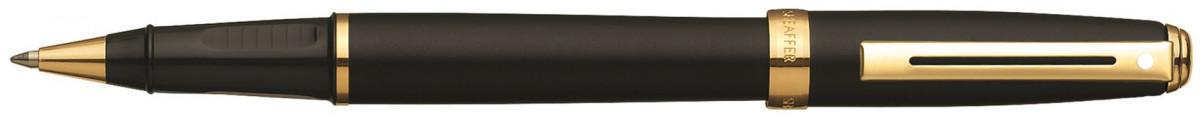 Sheaffer Prelude Rollerball Pen - Matte Black Gold Trim