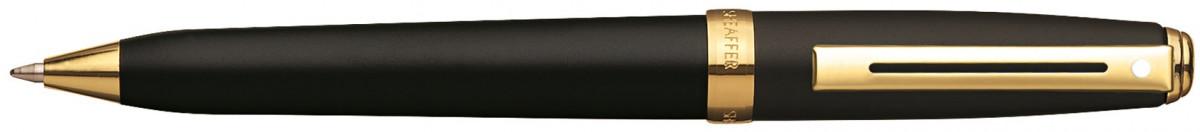 Sheaffer Prelude Ballpoint Pen - Matte Black Gold Trim